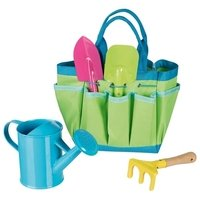 Игровой набор goki Садовые инструменты в сумке (63892G)