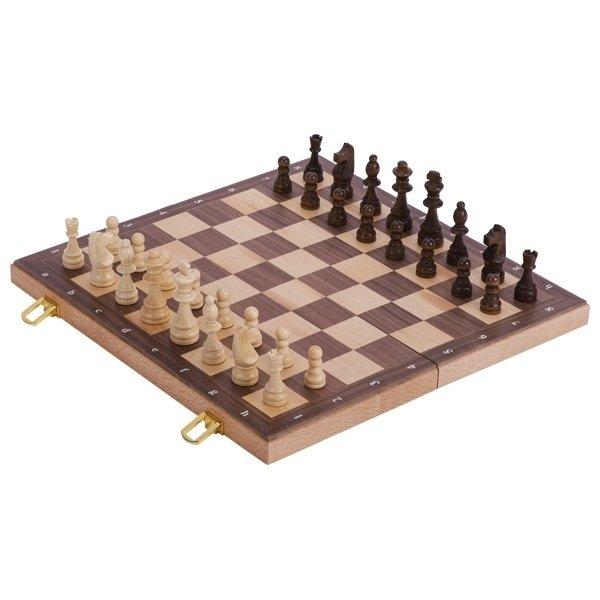 Настольная игра goki Шахматы в деревянном футляре (56922G) фото 1