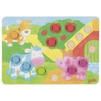Настольная игра goki Лото Разноцветный мир II (56813G)