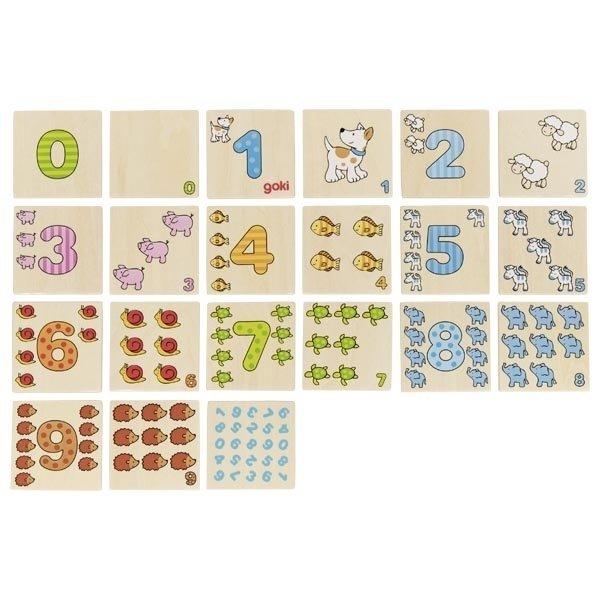 Игра мемо goki Учимся считать (56806G) фото