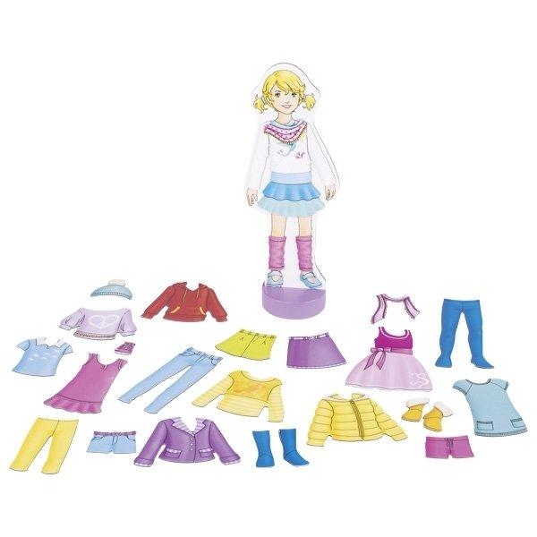 Купить Магнитная игра goki Наряды для куклы (58531G)