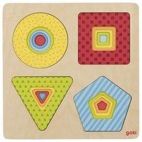 Пазл многослойный goki Геометрические фигуры (57705G)