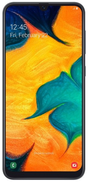 Купить СмартфонSamsungGalaxy A30 32GB A305F Black