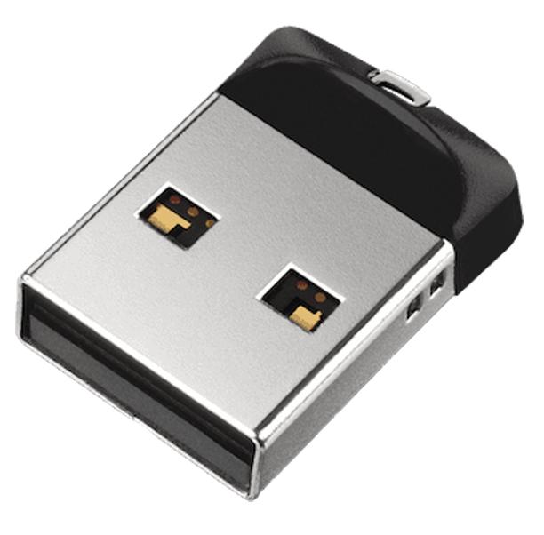 Накопичувач USB 2.0 SanDisk 16GB USB Cruzer Fit (SDCZ33-016G-G35) фото1