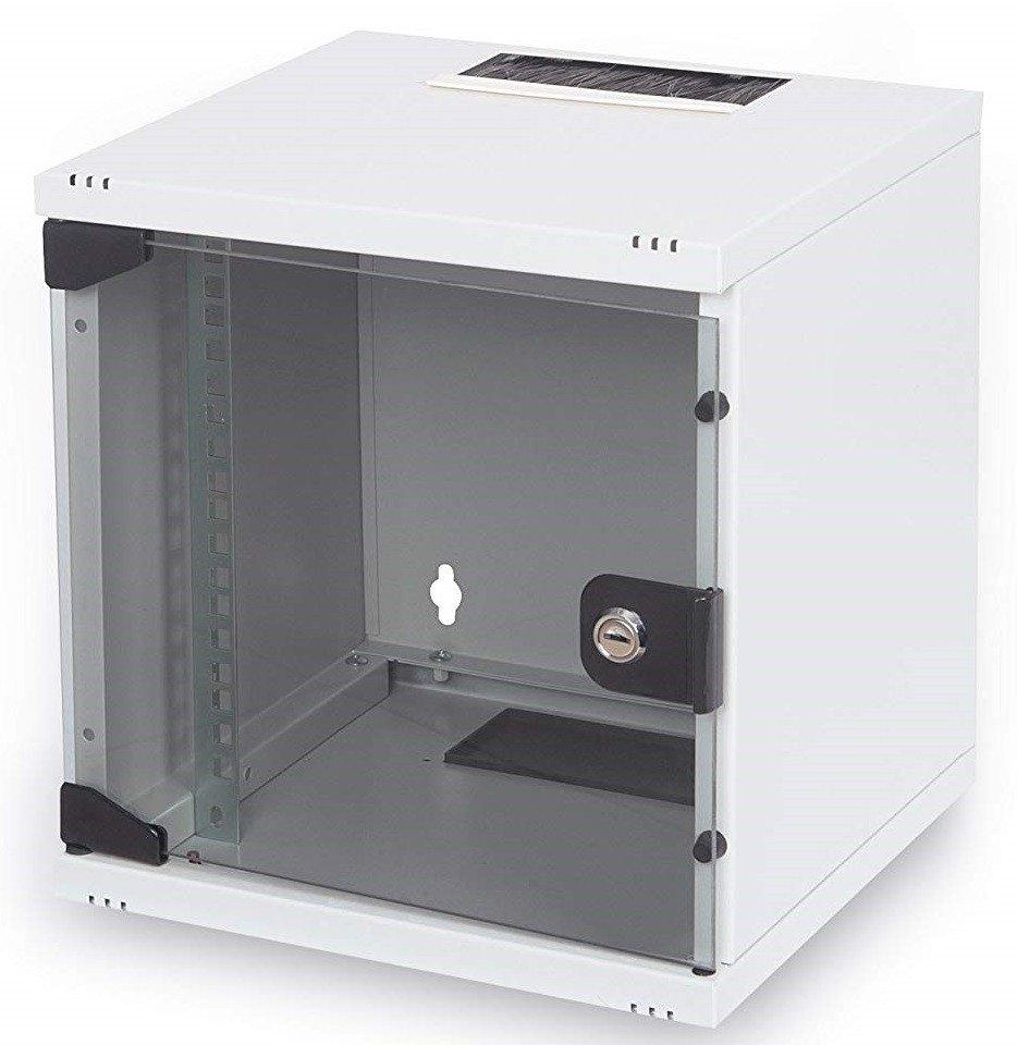 """Шкаф DIGITUS 10"""" 6U 312x300, стекл.дверь фото"""