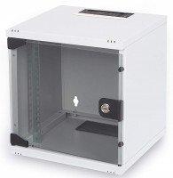 """Шкаф DIGITUS 10"""" 6U 312x300, стекл.дверь"""