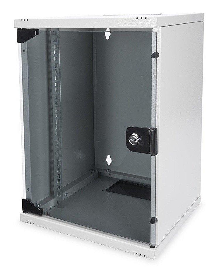 """Шкаф DIGITUS 10"""" 9U 312x300, стекл.дверь фото"""