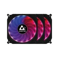 Набор корпусных вентиляторов CHIEFTEC TORNADO 3in1 RGB (CF-3012-RGB)