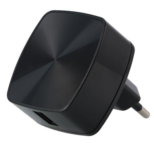 Мережевий зарядний пристрій Remax RP-U114 Quick Charger 3A Black фото1