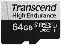 Карта памяти Transcend microSDXC 64GB Class 10 UHS-I U1 High Endurance (85TB)