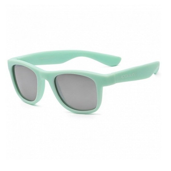 Купить Детские солнцезащитные очки Koolsun KS-WABA001 светло-бирюзовые 1+ (KS-WABA001)