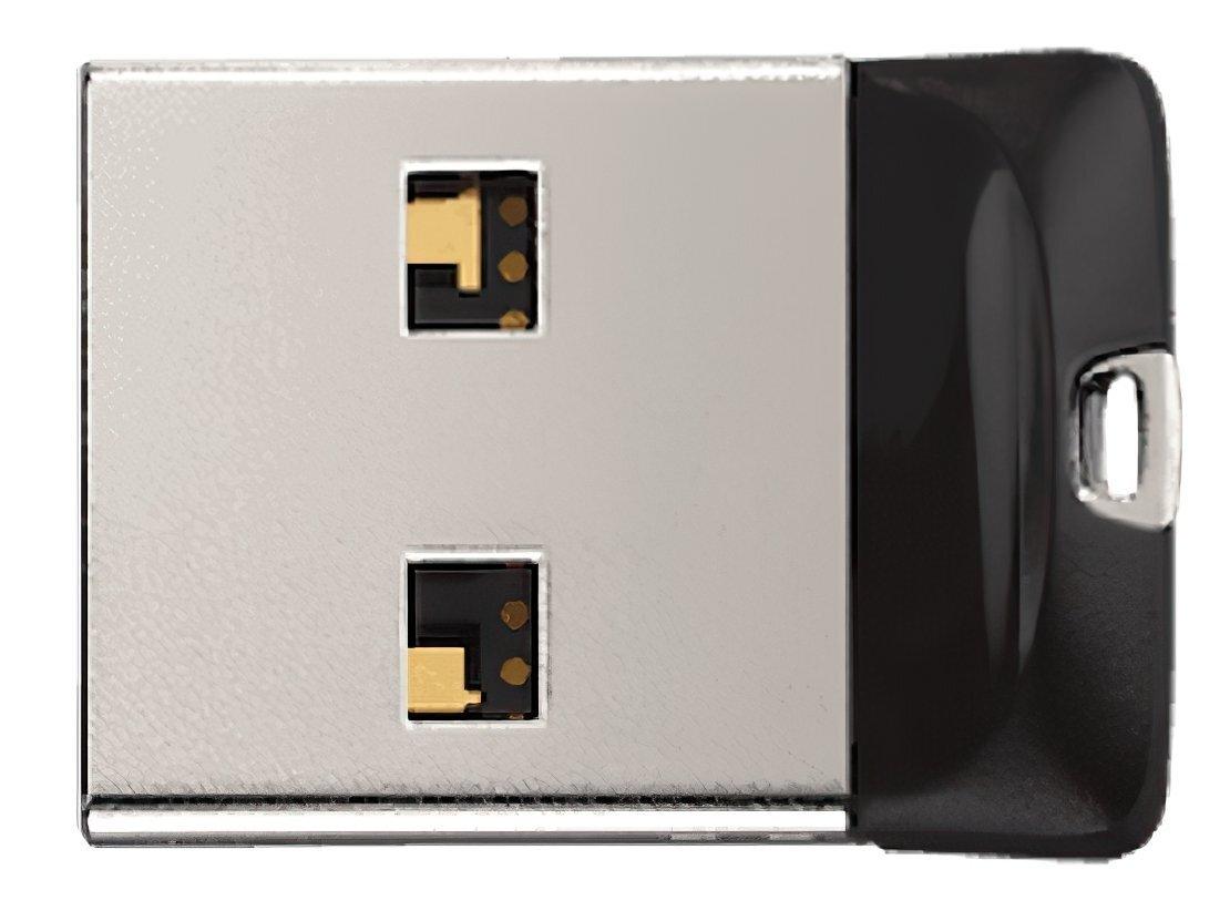 Накопичувач USB 2.0 SANDISK Cruzer Fit 32GB (SDCZ33-032G-G35) фото1