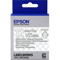 Картридж с лентой Epson LK4TWN принтеров LW-300/400/400VP/700 Clear White/Clear 12mm/9m (C53S654013)