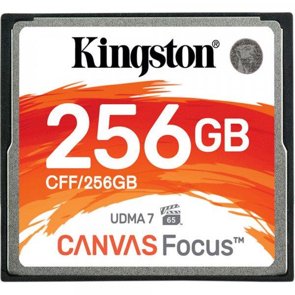 Купить CompactFlash, Карта памяти KINGSTON CF 256GB R150/W130MB/s (CFF/256GB)