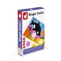 Настільна гра Janod Бінго. Вивчення кольору (J02693)