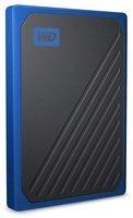 SSD накопитель WD Passport Go 1TB USB 3.0 Blue (WDBMCG0010BBT-WESN)