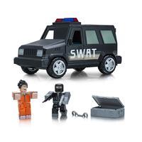 Игровая коллекционная фигурка Jazwares Roblox Feature Vehicle Jailbreak: SWAT Unit W4, набор 2 шт. (10774R)