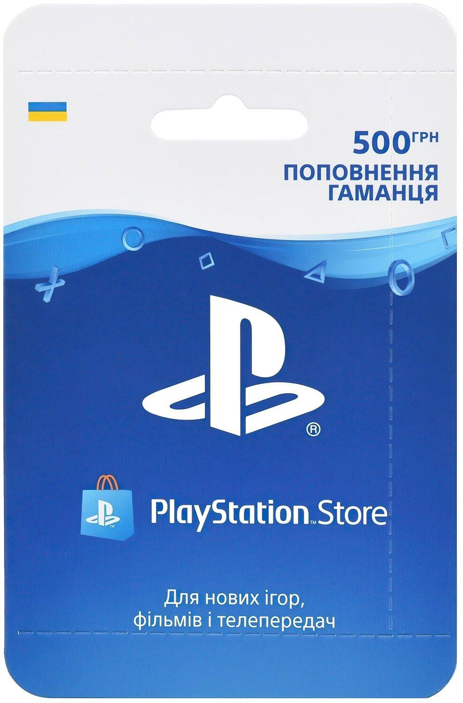 Playstation Store пополнение: Карта оплаты 500 грн фото