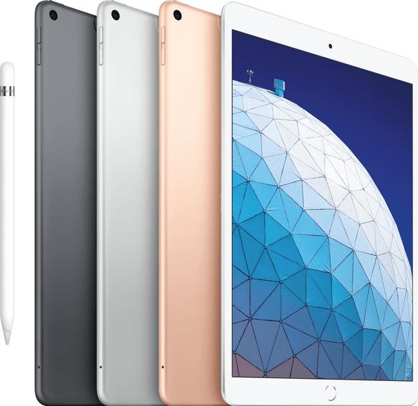 Купить Планшеты, Apple iPad Air 10.5 Wi-Fi + 4G 256GB Silver (MV0P2RK/A) 2019