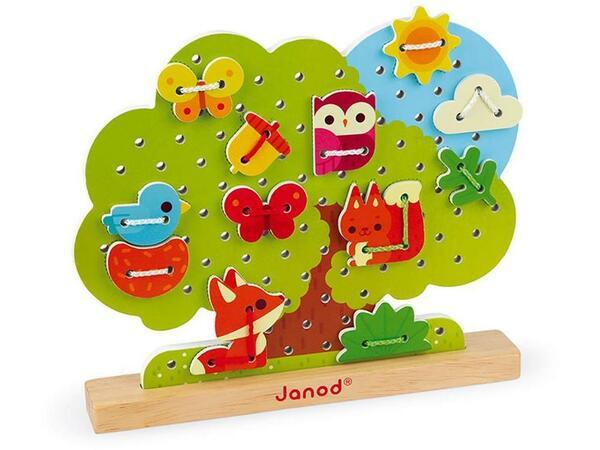 Купить Шнуровка Janod Дерево (J05316)