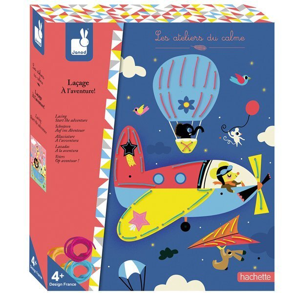 Купить Игрушки для новорожденных, Набор шнуровок Janod Приключения (J07813)