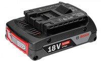 Аккумулятор Bosch Professional GBA 18V 3.0 Ah