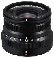 Объектив Fujifilm XF 16 mm f/2.8 R WR Black (16611667)