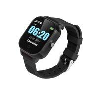 Дитячі годинник-телефон з GPS трекером GOGPS ME К23 чорний (K23BK)