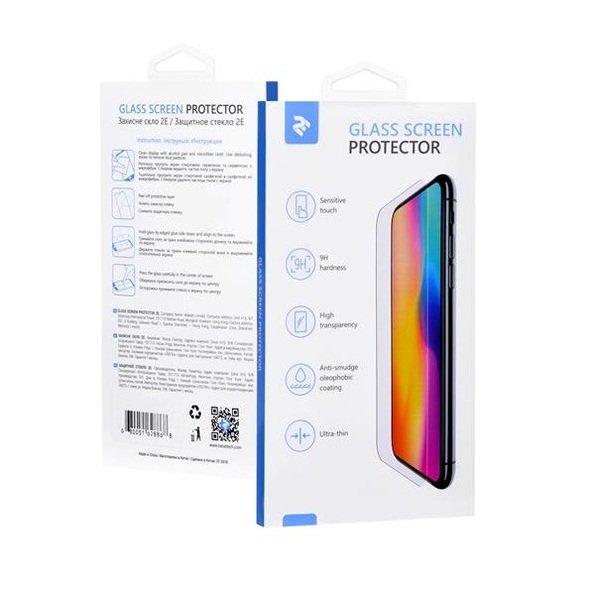 Купить Защитные пленки и стёкла для смартфонов, Стекло 2E для Huawei Y6 2019 2.5D FCFG Black border