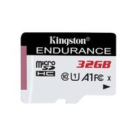 Карта памяти Kingston microSDHC 32GB Class 10 UHS-I R90/W45MB/s High Endurance