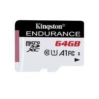 Карта памяти Kingston microSDXC 64GB Class 10 UHS-I R90/W45MB/s High Endurance