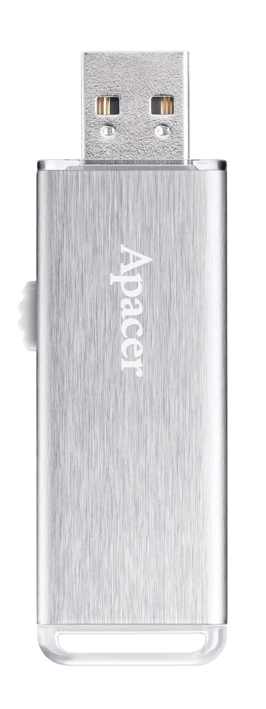 Накопичувач USB 2.0 APACER AH33A 32GB Metal Silver (AP32GAH33AS-1) фото