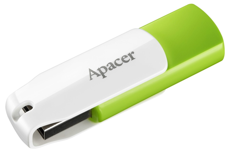 Накопитель USB 2.0 APACER AH335 32GB Green/White (AP32GAH335G-1) фото