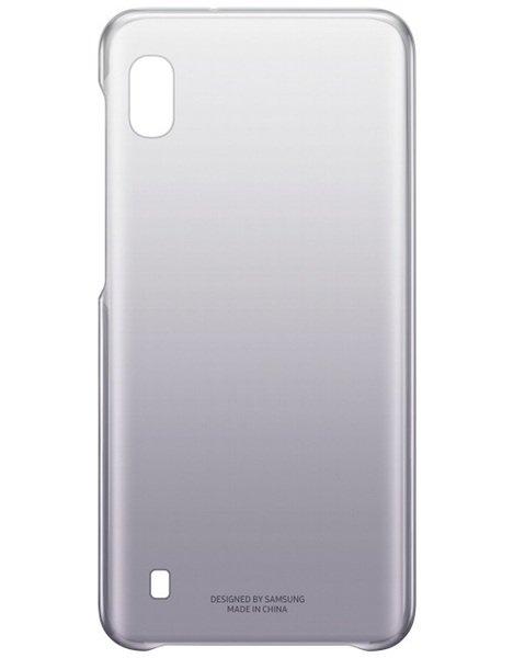 Акция на Чехол Samsung для GalaxyA10(A105F) GradationCover Black от MOYO