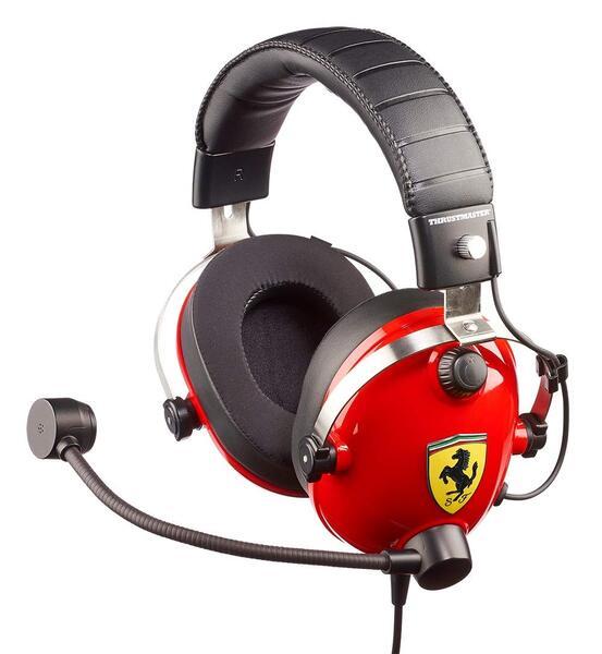 Купить Компьютерная гарнитура, Игровая гарнитура Thrustmaster T.Racing Scuderia Ferrari Edition Gaming (4060105)