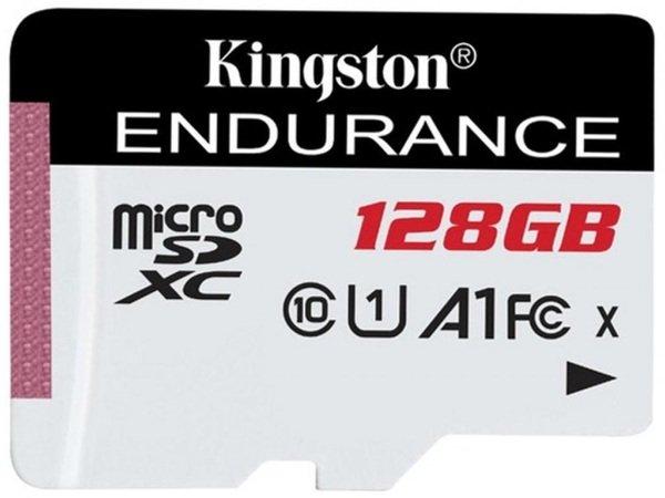 Купить Карты памяти MicroSD, Карта памяти Kingston microSDXC 128GB Class 10 UHS-I R90/W45MB/s High Endurance