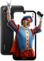 Смартфон Huawei Y5 2019 (AMN-LX9) Black Faux Leather