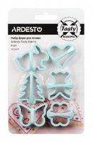 Набір форм для печива Ardesto Tasty baking блакитний 6 шт (AR2308TP)
