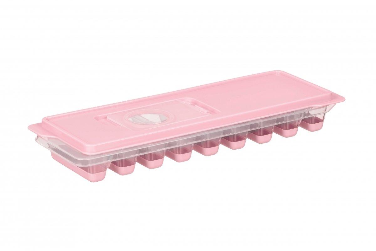 Форма для льоду Ardesto Fresh Stick рожева з кришкою (AR1102PP) фото1