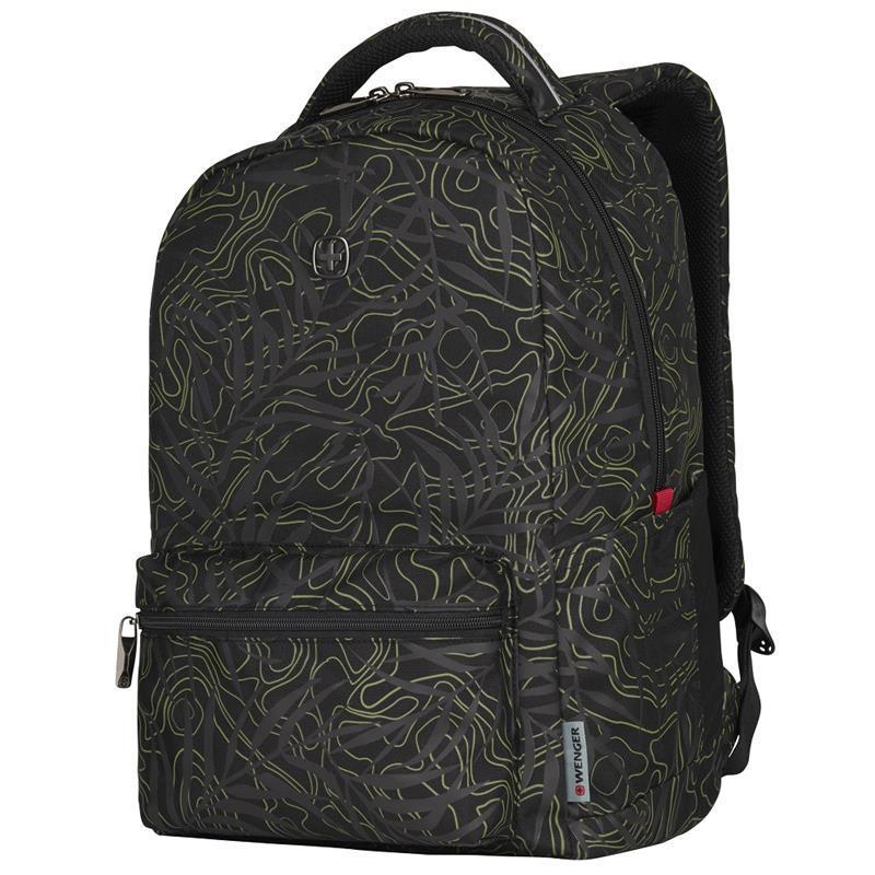 "Рюкзак для ноутбука Wenger Colleague 16"" (Black Fern Print) фото"