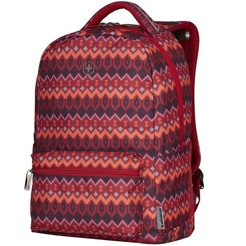 "<p>Рюкзак для ноутбука Wenger Colleague 16"" (Red Native Print)</p>фото1"