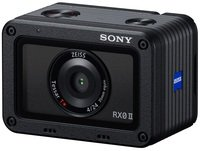 Фотоаппарат SONY Cyber-Shot RX0 II + рукоятка для съемки VCT-SGR1 (DSCRX0M2G.CEE)