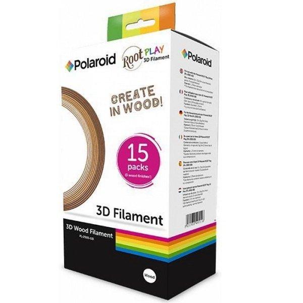 Набор нити 1.75мм WOOD (дерево) для ручки 3D Polaroid ROOT (PL-2501-00) фото