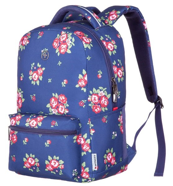 "Рюкзак Wenger Colleague 16"" Navy Floral Print"