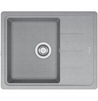 Кухонная мойка Franke BASIS BFG 611-62 серый камень (114.0565.090)