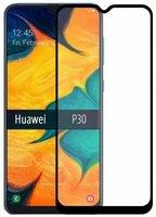 Стекло MakeFuture для Huawei P30 Full Cover Full Glue