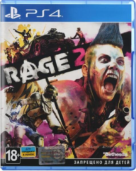 Игра RAGE 2 (PS4, Русская версия)