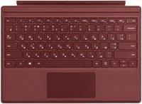 Чохол-клавіатура Microsoft для Surface Pro Signature Type Cover Burgundy Commercial