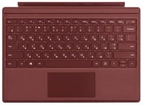 Чехол-клавиатура Microsoft для Surface GO Type Cover Commercial Burgund