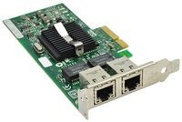Сетевая карта DELL Broadcom 5720 DP 1Gb Network Interface Card, Low Profile (557M9)